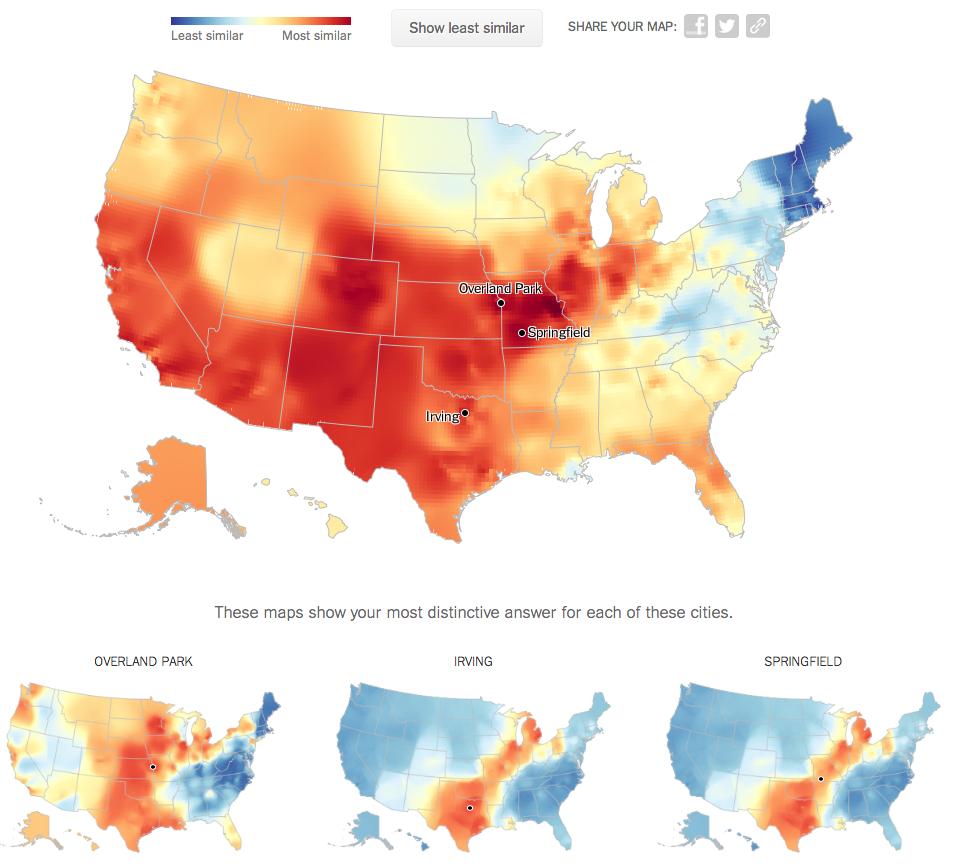BV West Spotlight Online  New York Dialect Quiz - Nyc map quiz