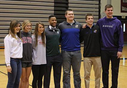 Spring Signing Ceremony Honors Athletes