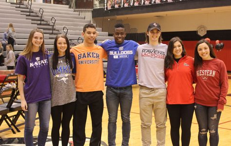 College Signings Photo Gallery