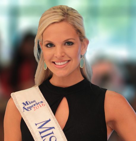 Miss Kansas Visits BV West