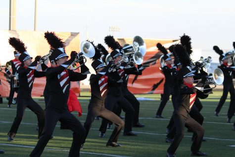 Marching Band Wraps Up Successful Season