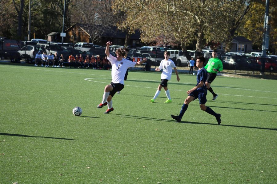 The BVW Jaguars battled the Olathe West Owls on Nov. 9 in the 6A State soccer championship game in Topeka, Kan.