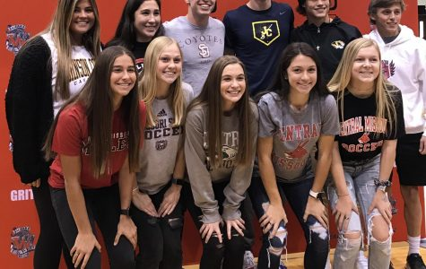 11 athletes sign National Letters of Intent
