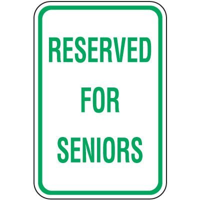 Seniors frustrated with lack of available parking